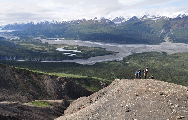 The Backpacking around Haines, AK offers a variety of terrain and scenery