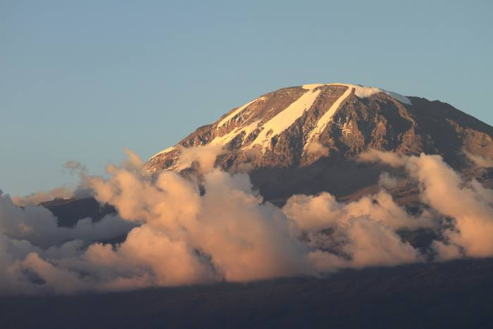 "Kilimanjaro (19,341') ""The Roof of Africa"" is the continent's tallest mountain"