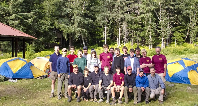 Chilkoot High Adventure Base has hosted groups from all across the country