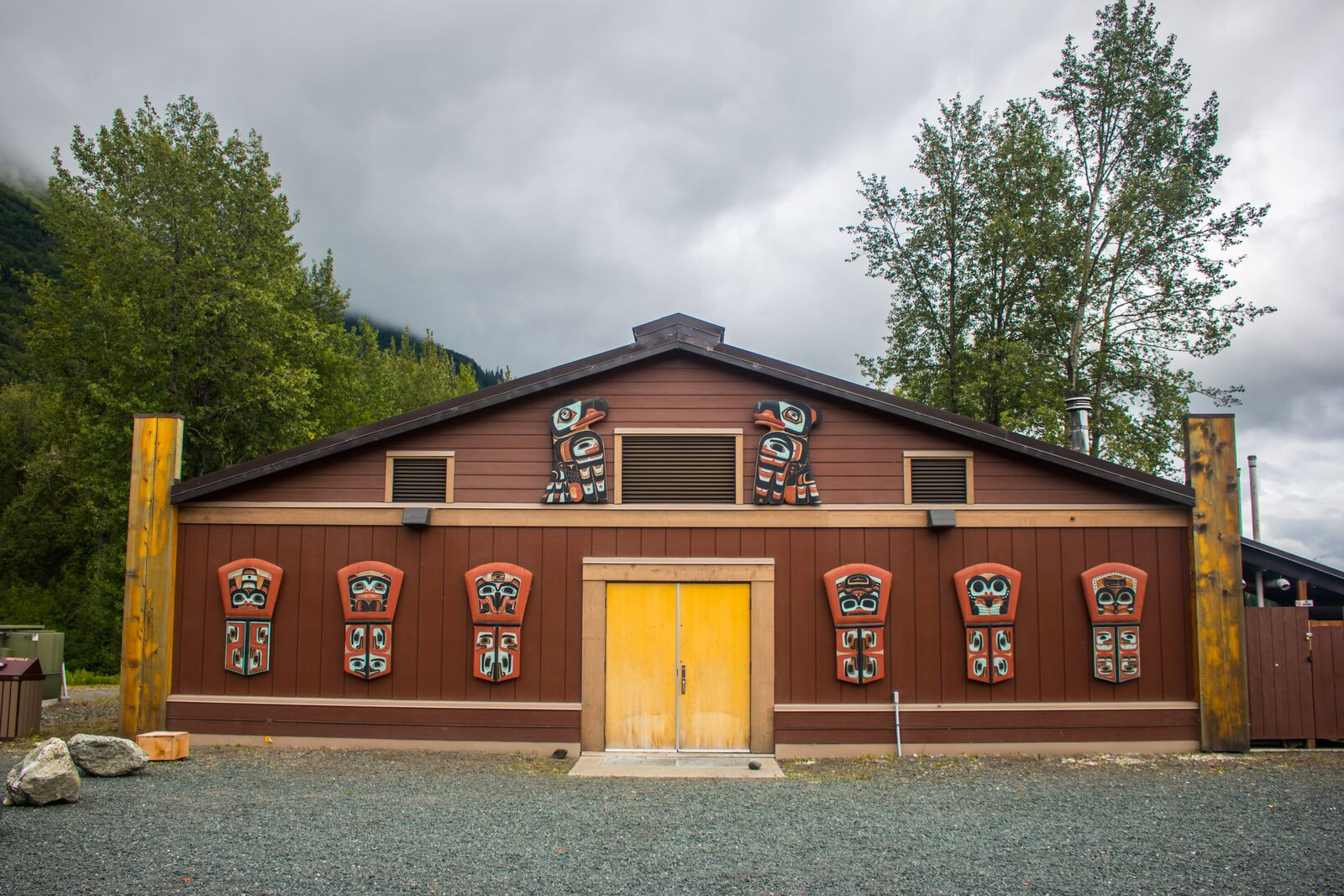 Constructed in 2015, the Klukwan Heritage Center offers a cultural experience unlike any other!