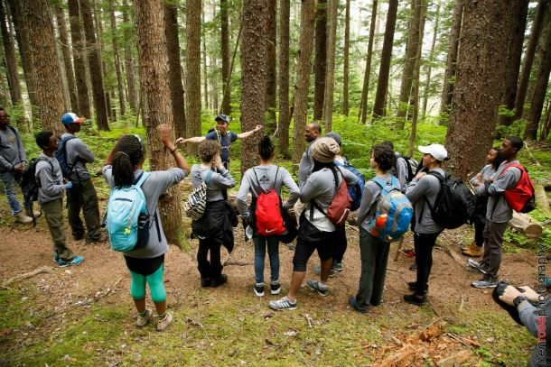 Chilkoot High Adventure Base Instructors are skilled naturalists